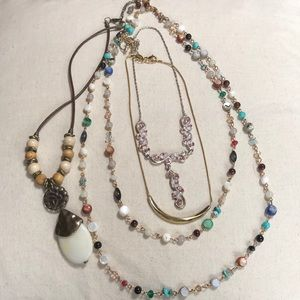 Jewelry - FLASH SALE!!  4 cute necklaces!!